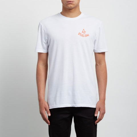 VOLCOM CHILL DD T-SHIRT - WHITE - 2018