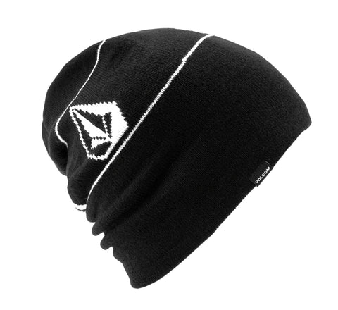 VOLCOM DEADLY STONES BEANIE - BLACK - 2021