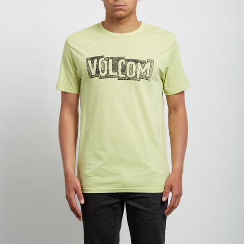 VOLCOM EDGE T-SHIRT - SHADOW LIME - 2018 - Boardwise