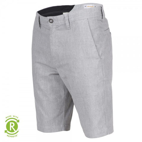 VOLCOM FRICKEN MODERN STRETCH SHORTS - GREY - 2018