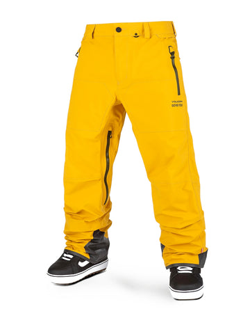 VOLCOM GUIDE GORE TEX SNOWBOARD PANT - RESIN GOLD - 2021