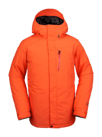 VOLCOM L INS GORE-TEX SNOWBOARD JACKET - ORANGE - 2020 - Boardwise