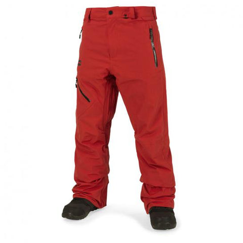 VOLCOM L GORE TEX SNOWBOARD PANT - BURNT ORANGE - 2018