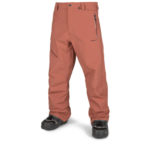 VOLCOM L GORE TEX SNOWBOARD PANT - BURNT ORANGE - 2019