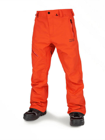 VOLCOM L GORE-TEX SNOWBOARD PANT - ORANGE - 2020 - Boardwise