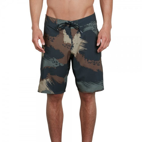 VOLCOM LIDO SOLID MOD 20 SHORTS - MILITARY - 2018
