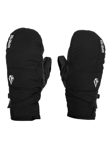 VOLCOM STAY DRY GORE TEX SNOWBOARD MITTS - BLACK - 2021