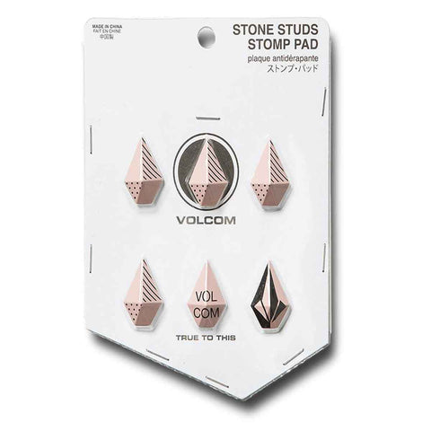 VOLCOM STONE STUDS STOMP PAD - ROSE WOOD