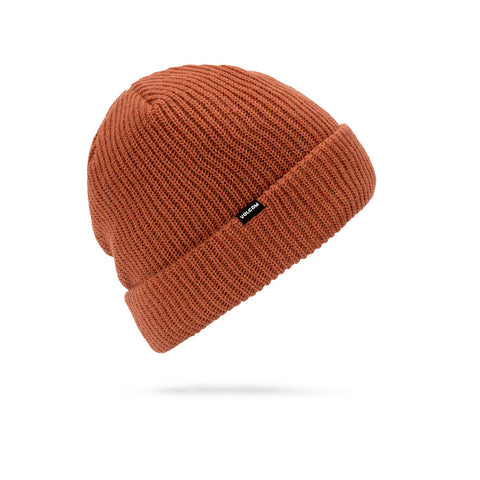 VOLCOM SWEEP LINED BEANIE - BURNT ORANGE - 2019 - Boardwise