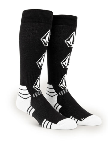 VOLCOM SYNTH SOCKS - BLACK - 2020
