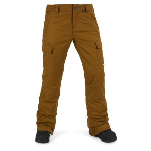 VOLCOM WOMENS CASCADE INS SNOWBOARD PANT - COPPER - 2018 - Boardwise