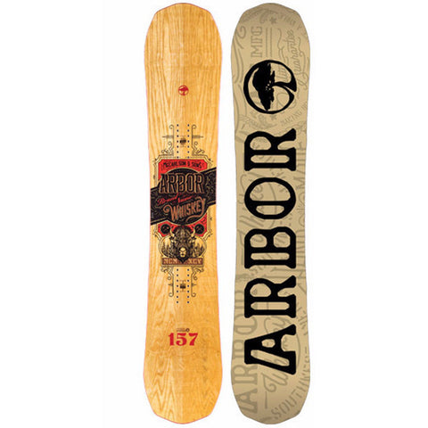 ARBOR WHISKEY SNOWBOARD - 2016 - Boardwise