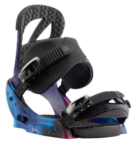 BURTON WOMENS SCRIBE EST SNOWBOARD BINDINGS - NORTHERN LIGHTS - 2018