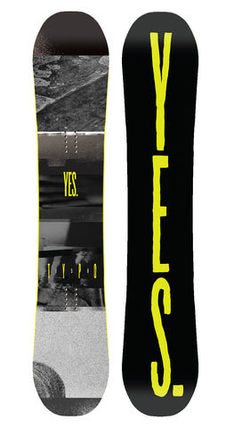 YES TYPO SNOWBOARD - 2018