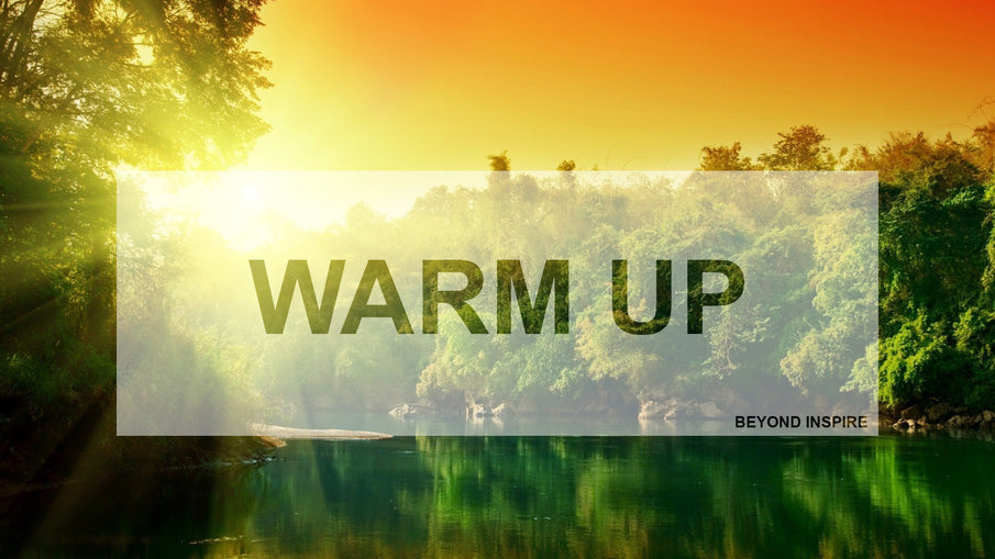Why you need to warm up?