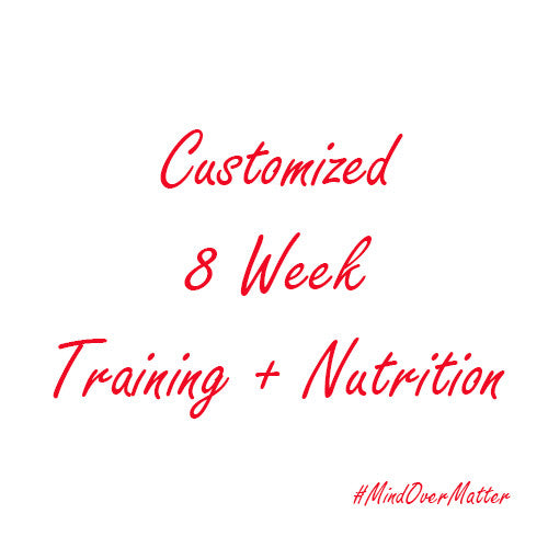 Customized 8 Week Program - Training + Nutrition-Beyond Athlete