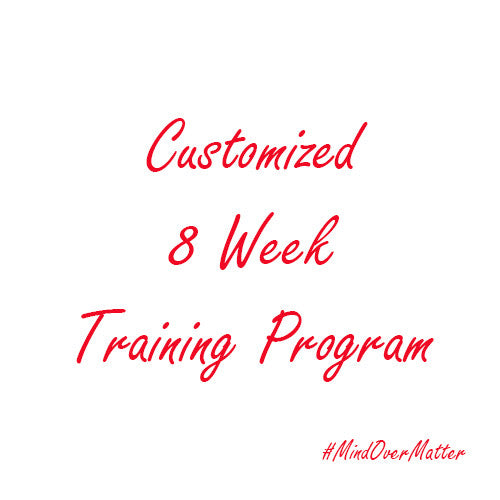 Customized 8 Week Program - Training only-Beyond Athlete