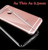 Ultra Thin Transparent Silicon iPhone 6 / 6S / 6 Plus / 6S Plus Cases-Beyond Athlete