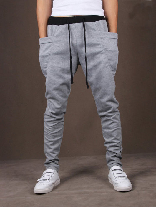 Unique P Joggers - Light Gray-Beyond Athlete