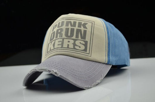 Punk Drunkers Baseball Cap - Sky Blue-Beyond Athlete