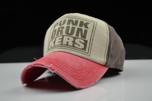 Punk Drunkers Baseball Cap - Brown-Beyond Athlete