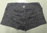 Women Fitness Active Shorts - All Gray-Beyond Athlete