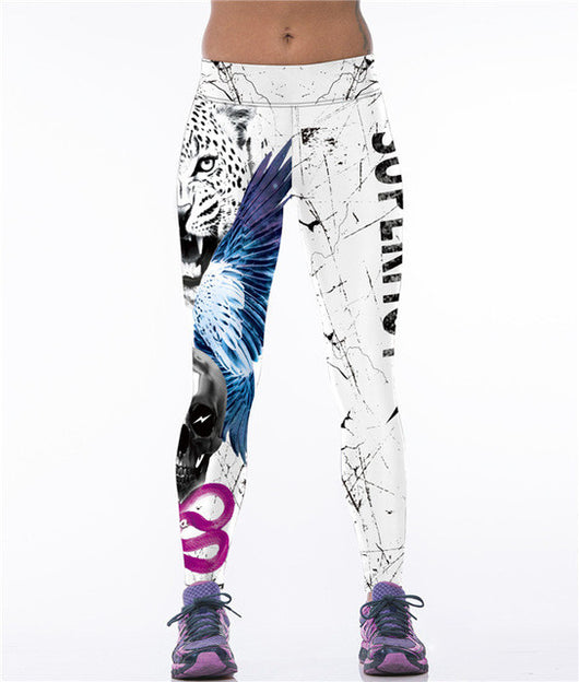 Printwork Womens Workout Leggings - 9 Designs available-Beyond Athlete