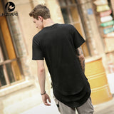 Side Zipper Long Casual Tee - 3 Colors available-Beyond Athlete