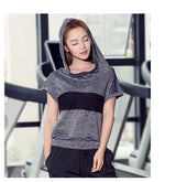 Women Hooded Sleeves Vest - Black and Gray color available-Beyond Athlete