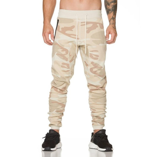 Camo Comfy Joggers-Beyond Athlete