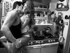 Sex in the kitchen