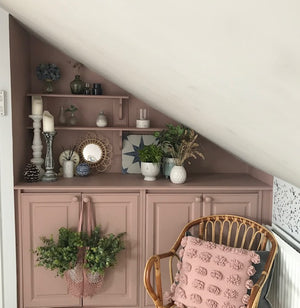 Dusky Blush Attic Transformation