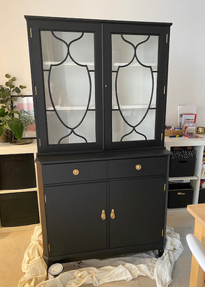Blackjack Cabinet Upcycling Project
