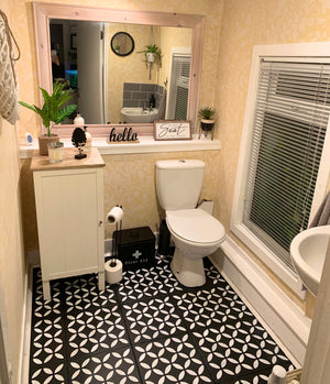 Blackjack Bathroom Upcycling Makeover