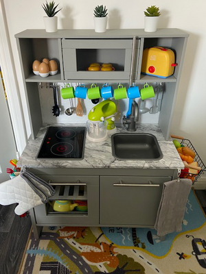 Spitfire Kids Play Kitchen Makeover