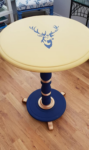 Hornblower & Hot As Mustard Table Makeover