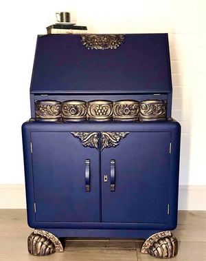 Hornblower Antique Side Cabinet Makeover