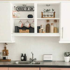 Dazzle Me! Kitchen Cabinet Makeover