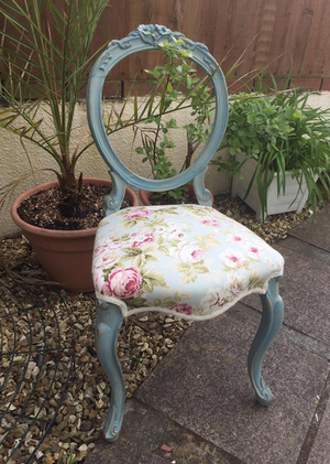 Scotch Mist Vintage Chair Makeover