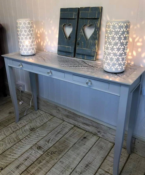 Swanky Pants Console Table Transformation