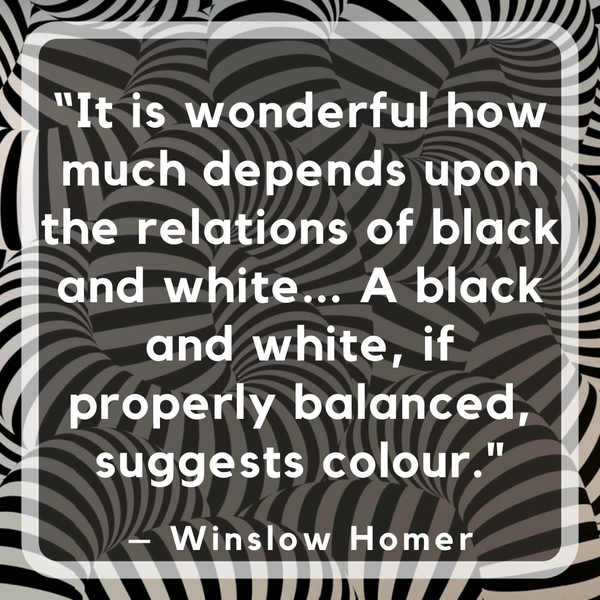 The relations of black and white – Winslow Homer