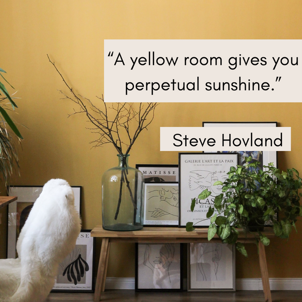 Gives you perpetual sunshine – Steve Hovland