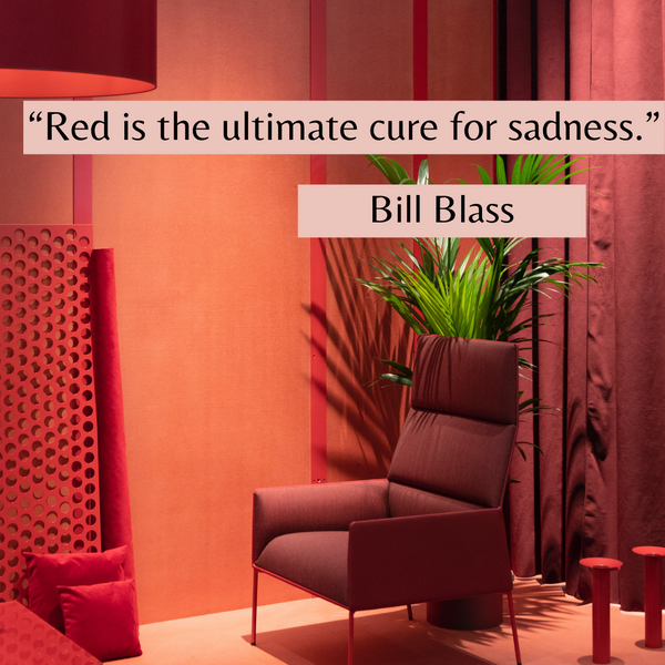 Ultimate cure for sadness – Bill Blass