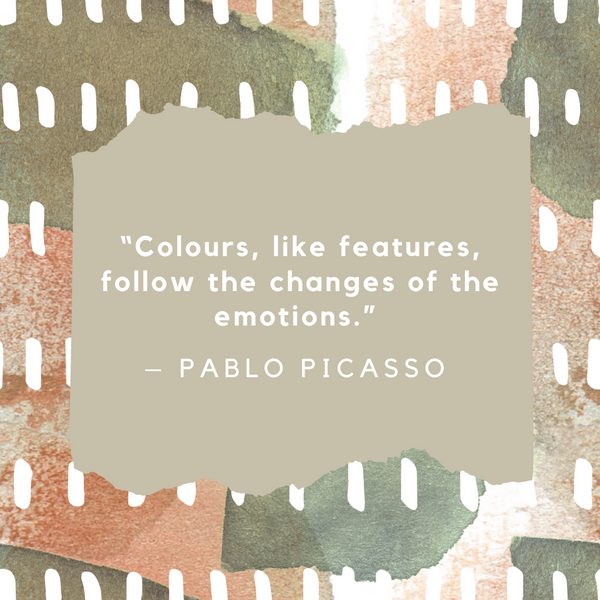 Changes of the emotions – Pablo Picasso