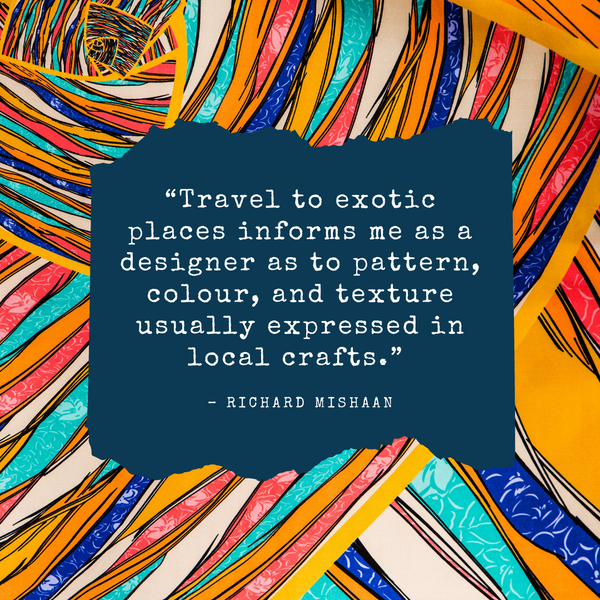 Travel to exotic places – Richard Mishaan