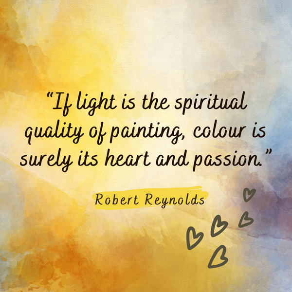 Colour is surely its heart and passion – Robert Reynolds
