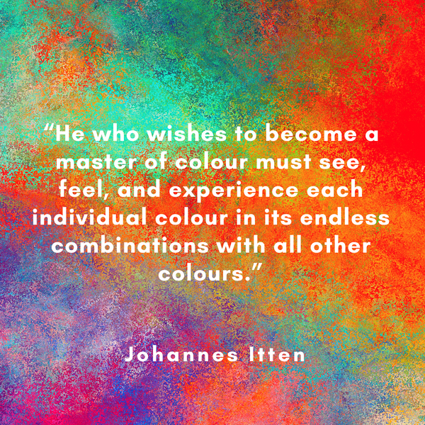 Become a master of colour – Johannes Itten