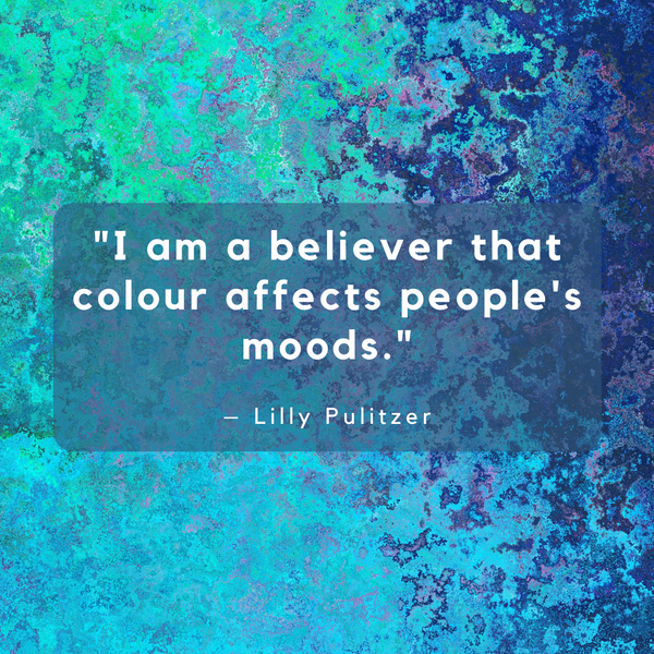 Colour affects people's moods – Lilly Pulitzer