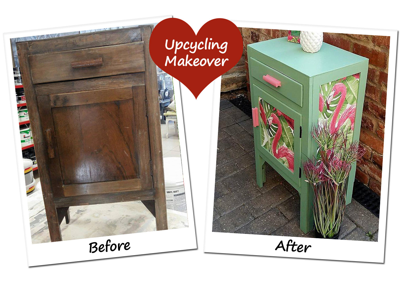Colourful Cupboard Frenchic Furniture Paint
