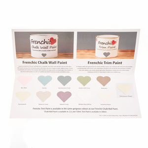 Chalk Wall Paint Colour Chart